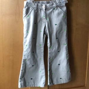 3/ $15 Gymboree turtle khakis
